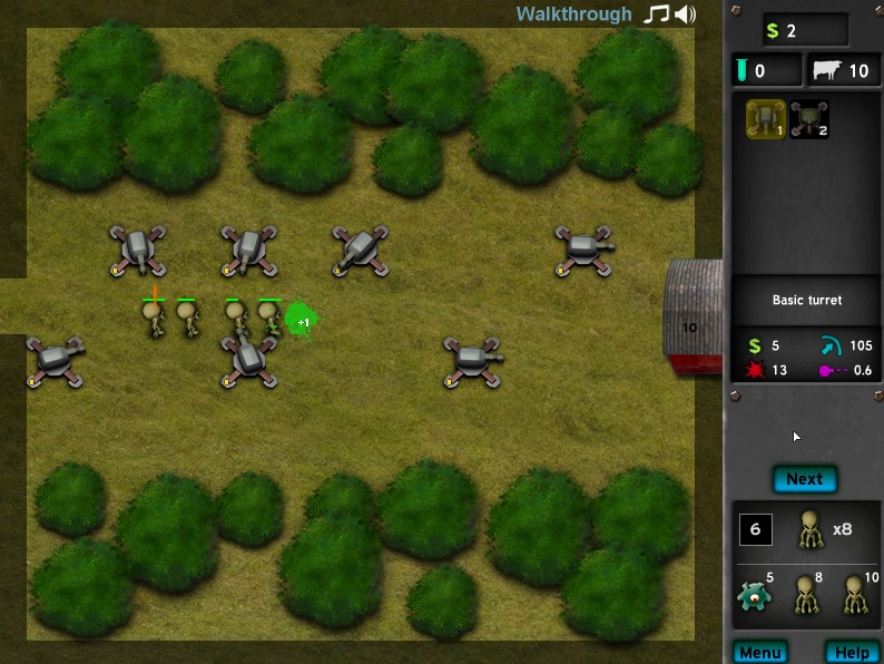 grey wars flash game